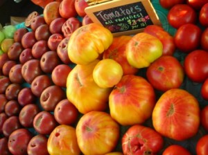 Heirloom Tomatoes 7-21-12a