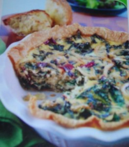 Swiss Chard and Gruyère Quiche « Russell Veggies