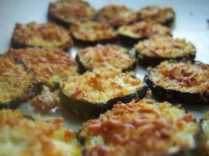 Zucchini Parmesan Crisp