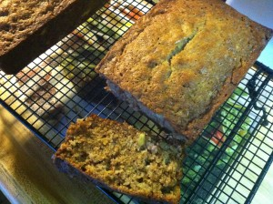 Pineapple ~ Banana Nut Bread