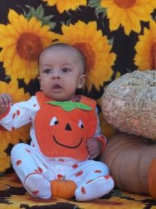 Quincy's first Halloween