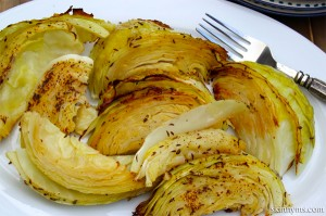 Dijon-Roasted-Cabbage